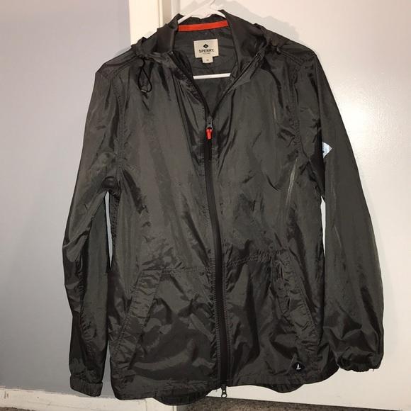 Sperry Mens Packable Jacket